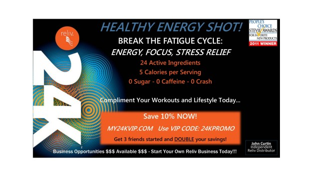 A Safe and Healthy Energy Shot