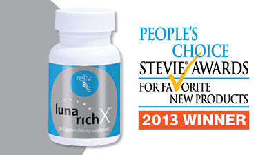 LunaRich X 2013 Stevie Award Winner!