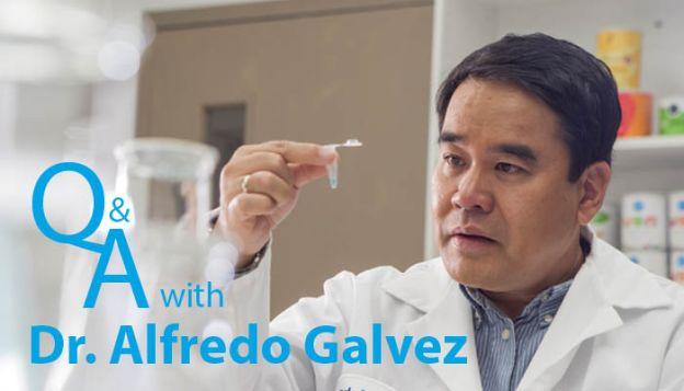 Dr Galvez the discoverer of lunasin